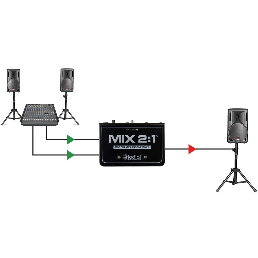 RADIAL ENGINEERING - MIX 2:1