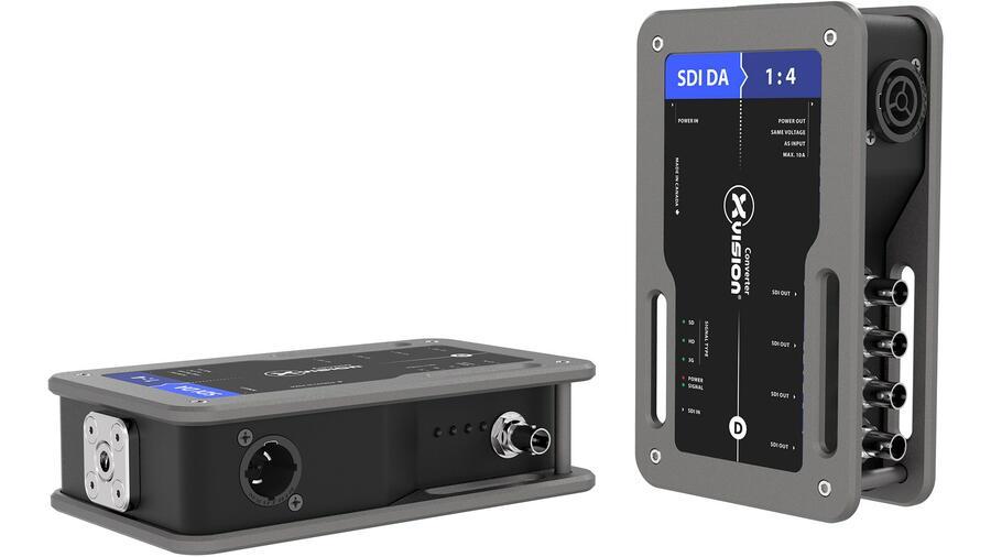 XVISION Splitter/distributore SDI 1 IN - 4 OUT