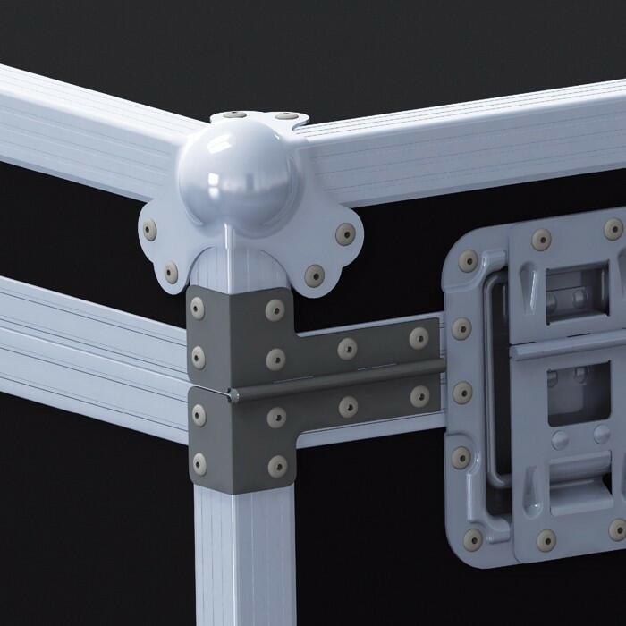 Cerniera angolare in acciaio zincato