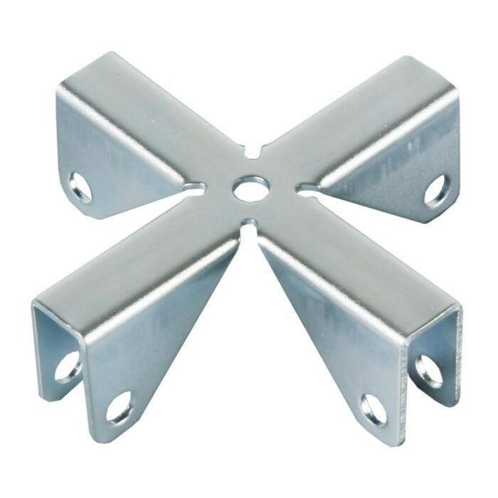 Croce di stabilizzazione per pannelli divisori 9,2 mm