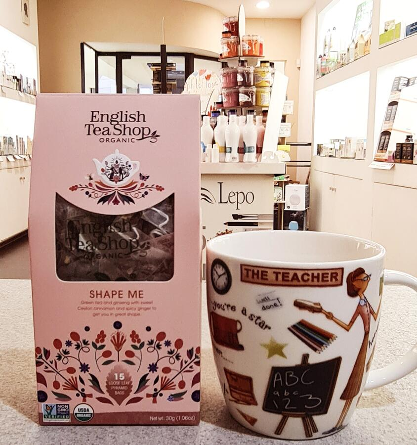 SHAPE ME English Tea Shop organic