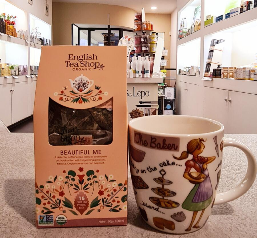 BEAUTIFUL ME English Tea Shop organic