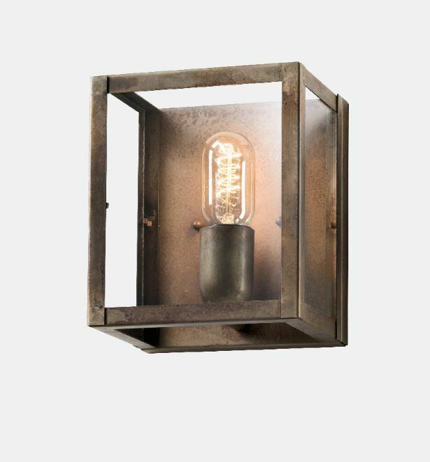 Lampada da Parete London in Ferro Anticato de Il Fanale, Varie Misure - Offerta di Mondo Luce 24