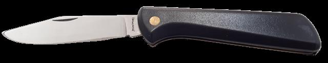 Coltello a serramanico lama inox cm.7 - fabbricazione Maniago - Italy