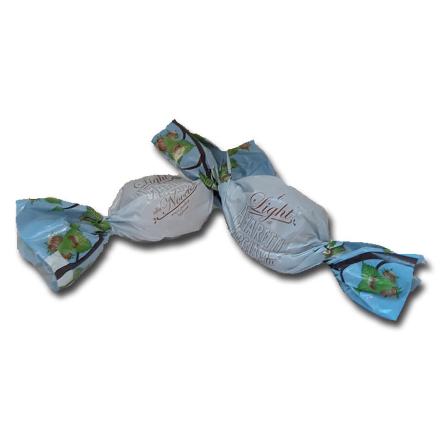 Virginia - Amaretti Soffici alle nocciole Senza Zucchero - Confezione da 8 pezzi