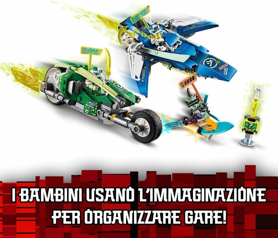 I Bolidi di Velocità di Jay e Lloyd - Lego Ninjago 71709 - 7+