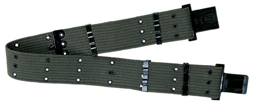Cinturone militare regolabile colore verde
