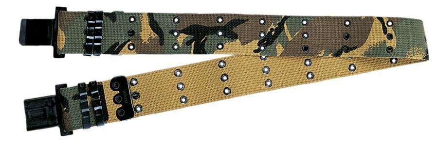 Cinturone militare regolabile colore mimetico