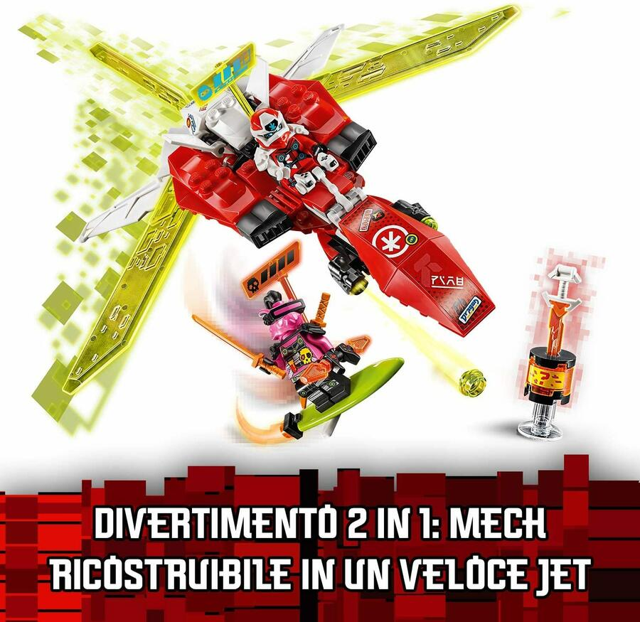 Il Mech-Jet di Kai - Lego Ninjago - 7+ anni