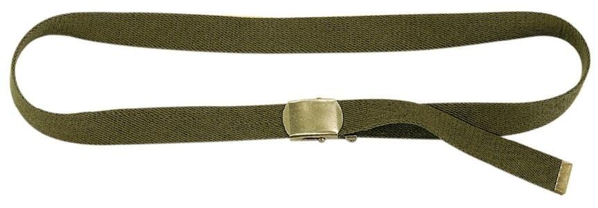 Cintura militare regolabile mm.30 colore verde