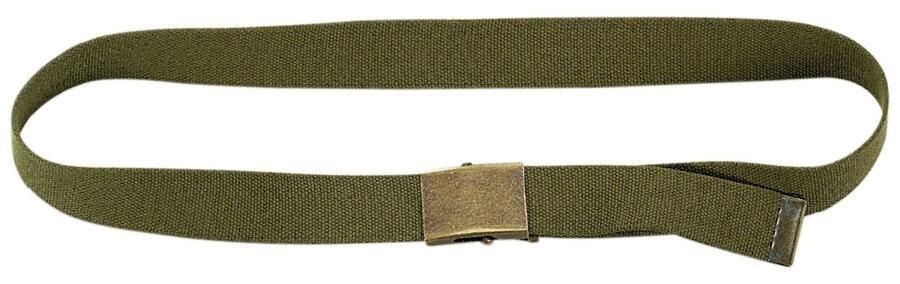 Cintura militare regolabile mm.40 colore verde