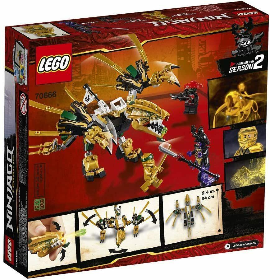Il dragone d'oro - Lego Ninjago - 7+ anni