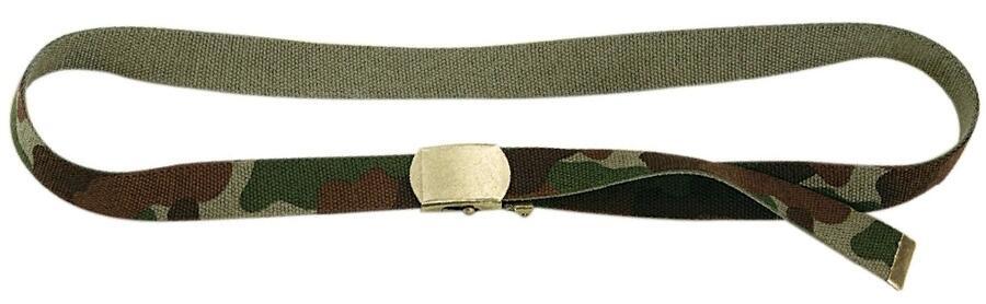 Cintura militare regolabile mm.30 colore mimetico