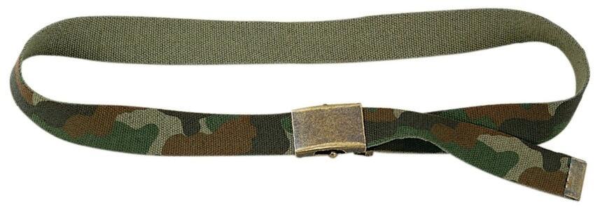 Cintura militare regolabile mm.40 colore mimetico