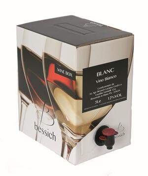 Blanc Wine Box 3-5-10 litri
