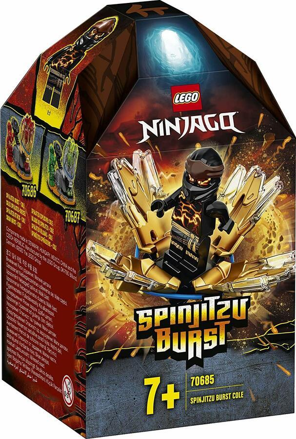 Spinjitzu Sbam Cole - Lego Ninjago 70685 -7+ anni