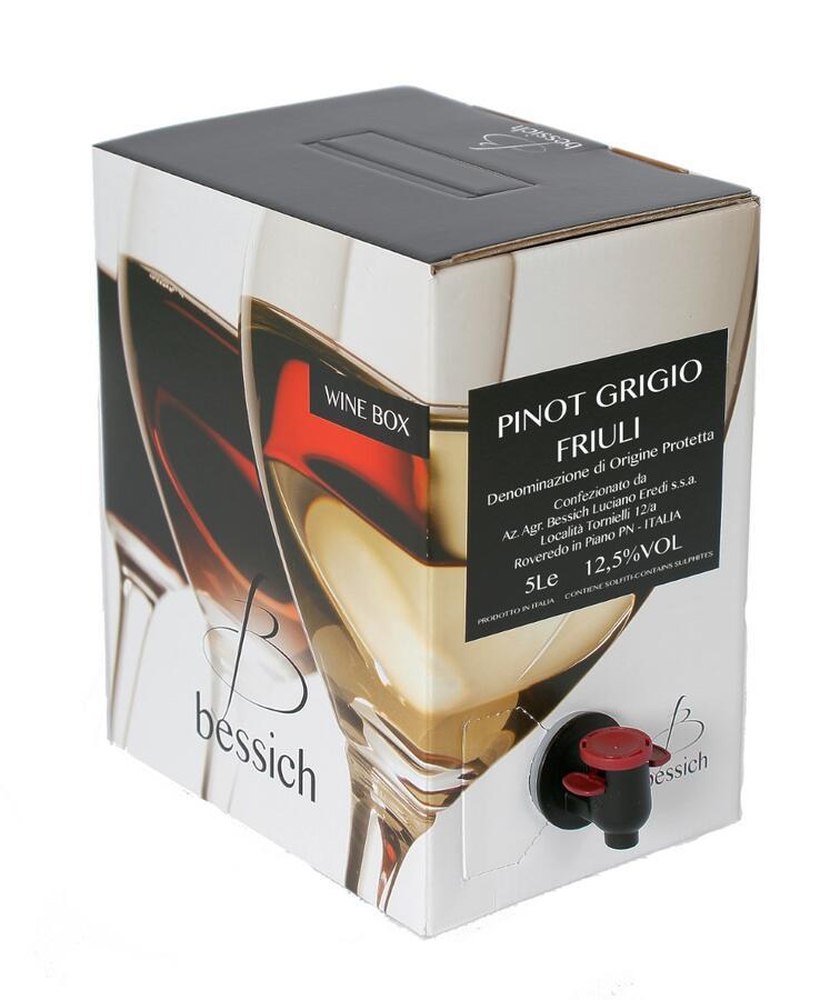 Pinot Grigio Wine Box 5 liters