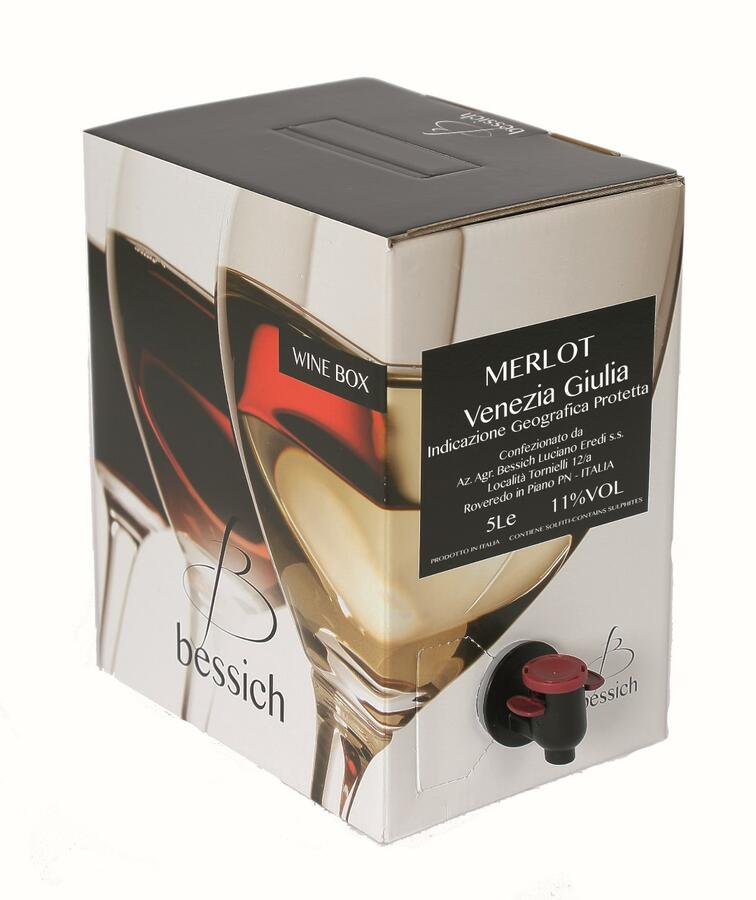 Merlot 11% Wine Box 3-5-10 litri