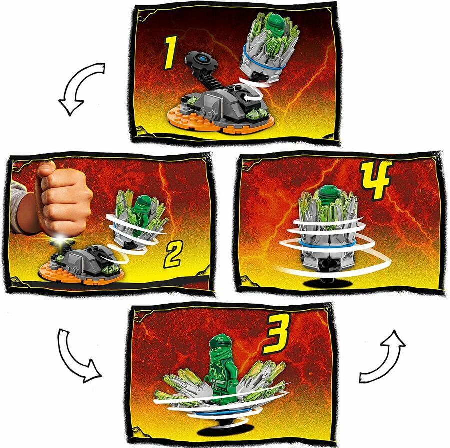 Spinjitzu Burst - Lloyd - Lego Ninjago 70687 - 7+ anni