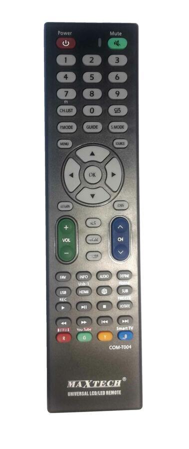 TELECOMANDO UNIVERSALE COM-T004 MAXTECH