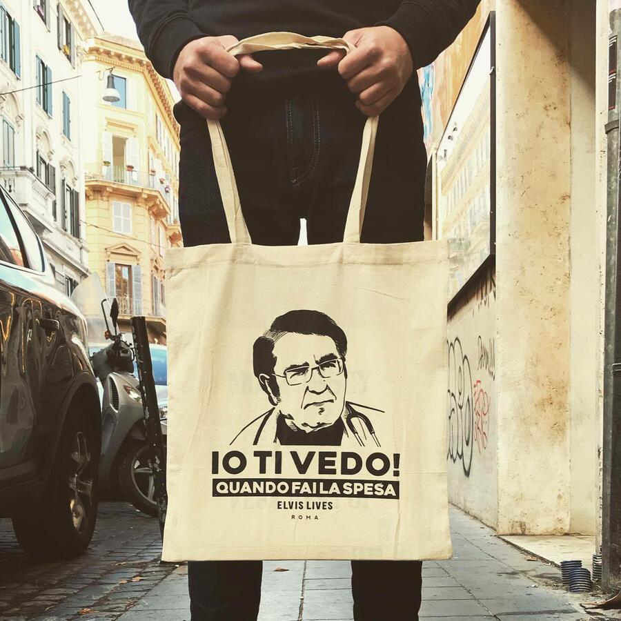 Elvis Lives Shopper Dottore