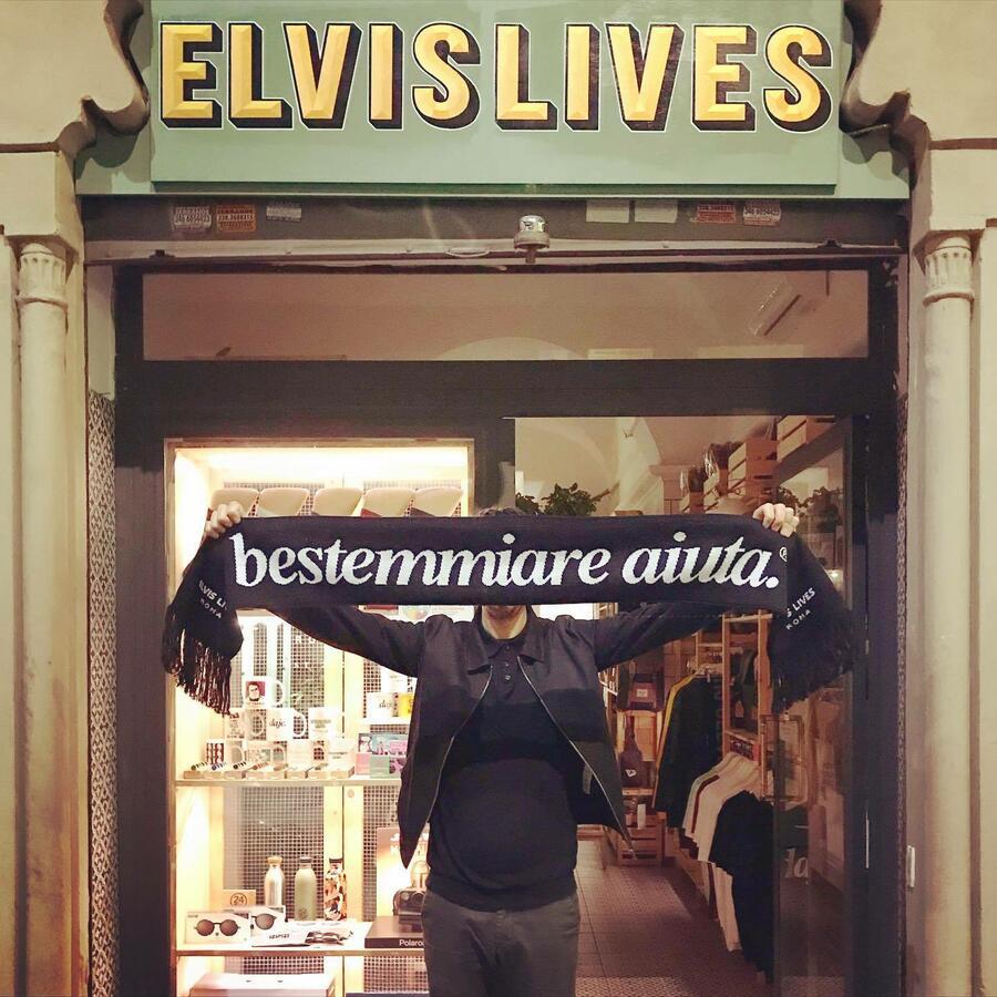 Elvis Sciarpa - Bestemmiare Aiuta