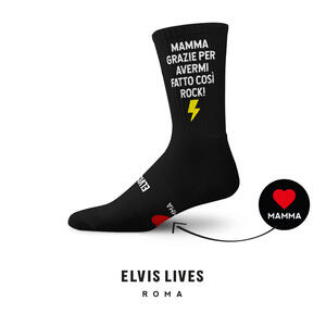 Elvis Lives Socks - Mamma Grazie