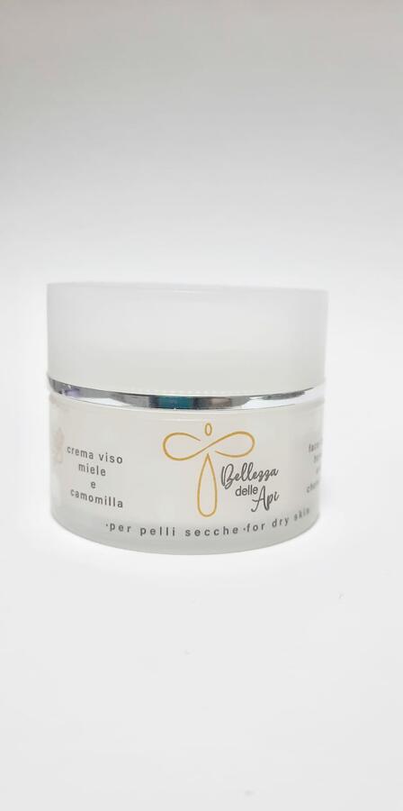 Crema Viso Miele e Camomilla per pelli secche 50 ml