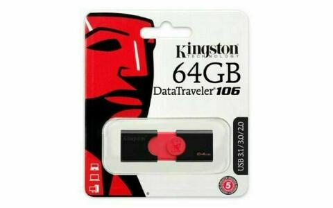CHIAVETTA USB 3.1 DATATRAVELER 106 KINGSTON