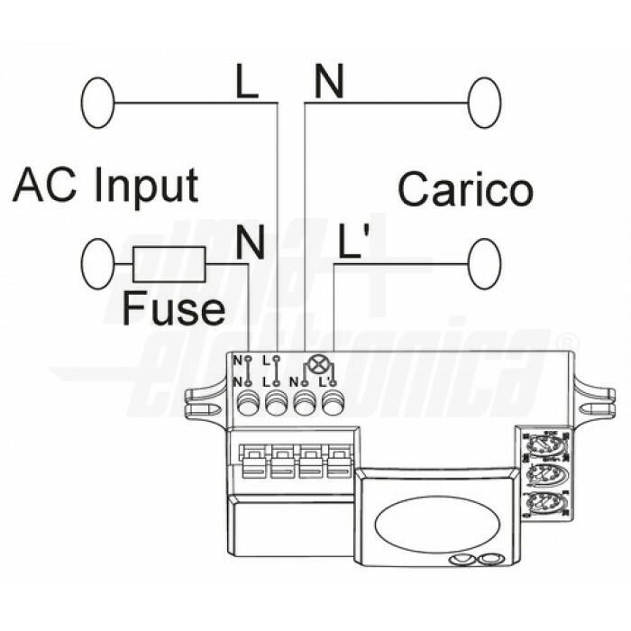 Sensore di movimento a microonde