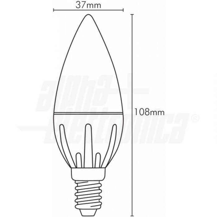 Lampadina a LED dimmerabile Wi-Fi E14