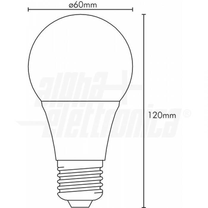 Lampadina a LED dimmerabile Wi-Fi E27 CCT