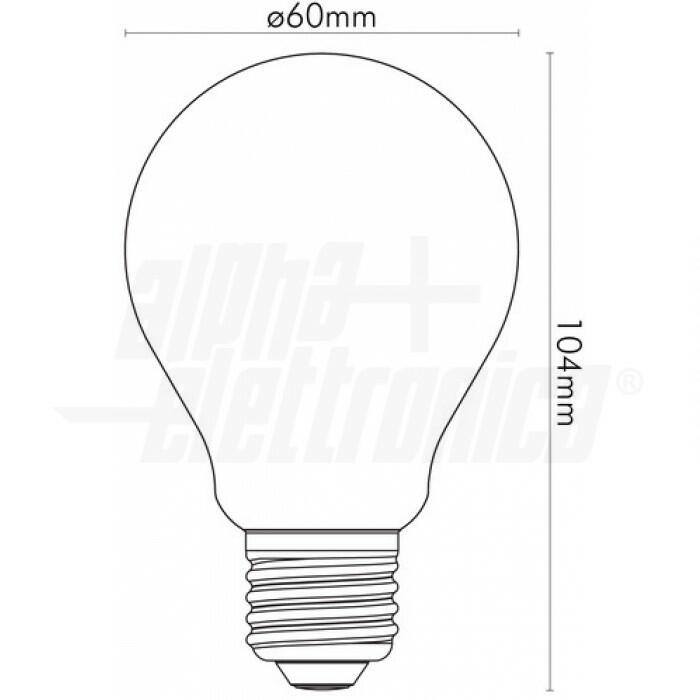 Lampadina a LED Filament dimmerabile Wi-Fi E27
