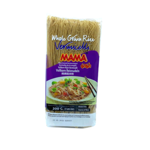MM RICE VERMICELLI BROW 200GR