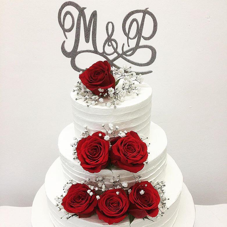 Cake topper anniversari