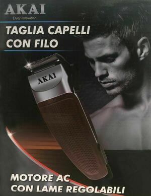 TAGLIA CAPELLI CON FILO TAK-4650AC AKAI