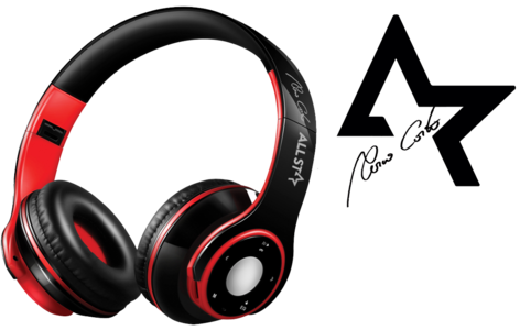 WIRELESS HEADSET CUFFIE ASH-08GKX ALLSTAR