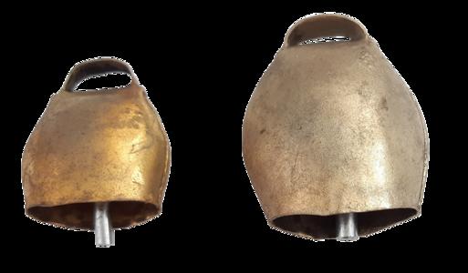 Campano in bronzo tondo disponibile in 2 misure