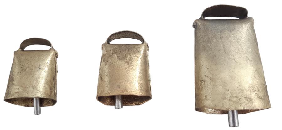 Campano in bronzo dritto disponibile in 3 misure