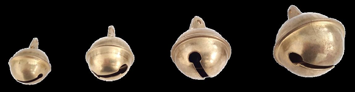Bubbolo in ottone tipo pesante nei diametri mm.21 - 25 - 32 - 38