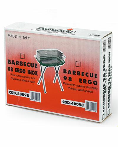 Barbecue 98Ergo Alluminio Ompagrill