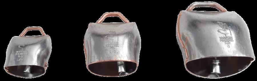 Campano in acciaio al carbonio disponibile in 3 misure