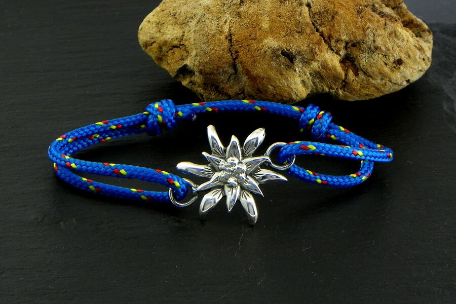 Edelweiss Bracelet Silver blackened