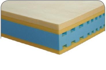 Materasso Memory Mod. Eracle New da Cm 170x190/195/200 Argento Sfoderabile Altezza Cm. 24 - ErgoRelax