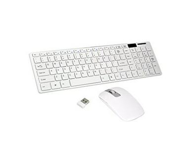 KEYBOARD DOCK SET TASTIERA E MOUSE WIRELESS 2.4 G ULTRA THIN FASHION LEOVIN