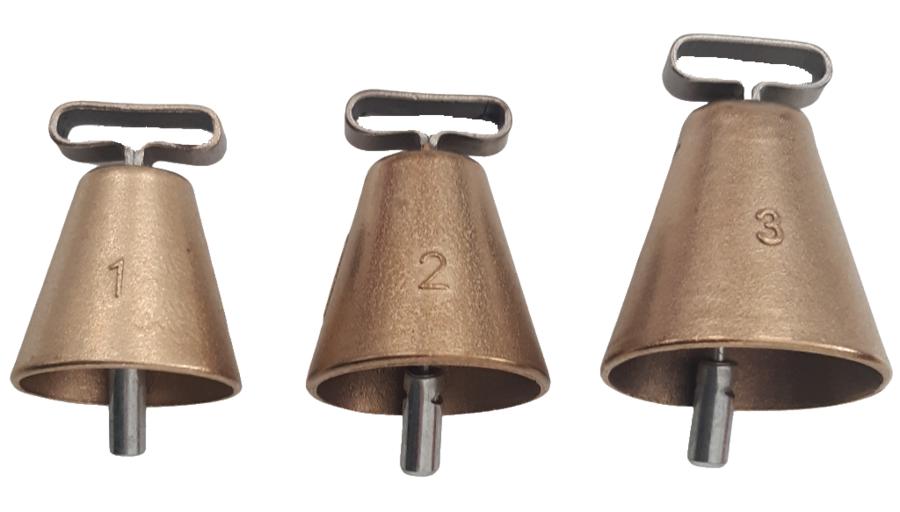 Campana di alta qualità in bronzo disponibile in 3 misure