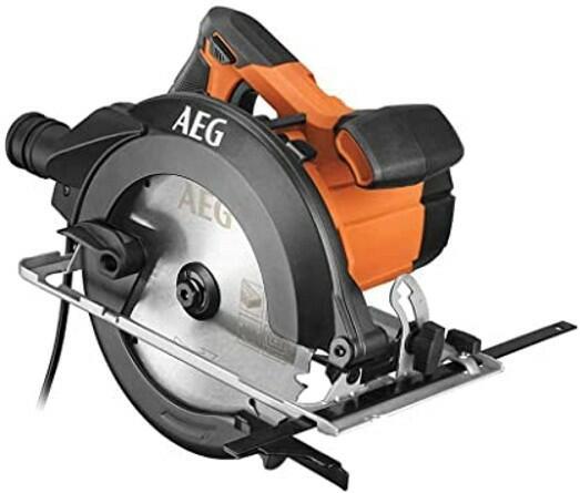 Sega circolare per legno AEG KS12-1 motore 1200W - lama ⌀ 190 mm