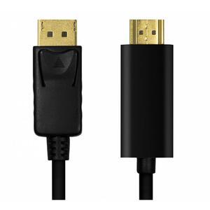 CAVO CONVERTITORE DISPLAYPORT 1.2 A HDMI 1.4 MM 1 METRO LOGILINK