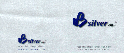 Materasso Mod. Memory Premium Silver  85x200 Zone Differenziate Argento Altezza Cm. 21 - Ergorelax