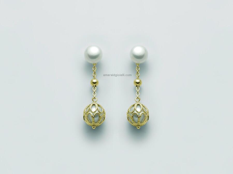 PER2450G Orecchini con perle Miluna -